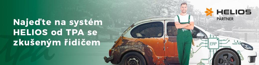Najeďte na systém HELIOS od TPA se zkušeným řidičem