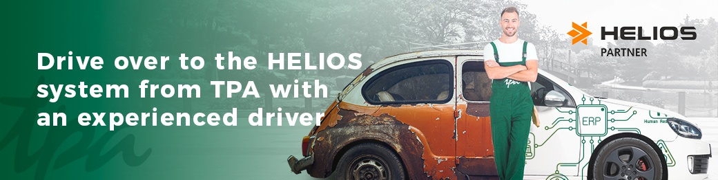 Drive over to the HELIOS system from TPA with an experienced driver